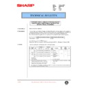 Sharp AR-200 (serv.man85) Technical Bulletin