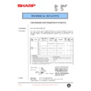 Sharp AR-200 (serv.man87) Technical Bulletin