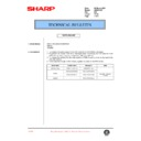 Sharp AR-200 (serv.man89) Technical Bulletin