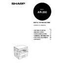 Sharp AR-200 (serv.man9) User Guide / Operation Manual