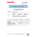 Sharp AR-200 (serv.man92) Technical Bulletin
