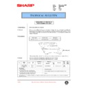 Sharp AR-200 (serv.man94) Technical Bulletin