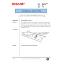 Sharp AR-200 (serv.man95) Technical Bulletin