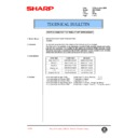 Sharp AR-200 (serv.man97) Technical Bulletin