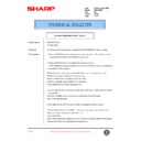 Sharp AR-200 (serv.man98) Technical Bulletin