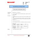 Sharp AR-200 (serv.man99) Technical Bulletin