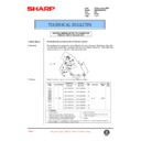 Sharp AR-285 (serv.man101) Technical Bulletin