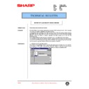 Sharp AR-285 (serv.man117) Technical Bulletin