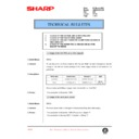 Sharp AR-285 (serv.man119) Technical Bulletin