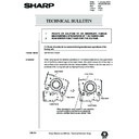 Sharp AR-285 (serv.man123) Technical Bulletin