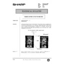 Sharp AR-285 (serv.man124) Technical Bulletin