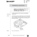 Sharp AR-285 (serv.man131) Technical Bulletin