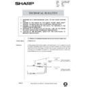 Sharp AR-285 (serv.man133) Technical Bulletin