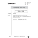 Sharp AR-285 (serv.man136) Technical Bulletin