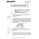 Sharp AR-285 (serv.man143) Technical Bulletin