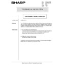 Sharp AR-285 (serv.man144) Technical Bulletin