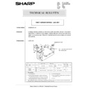 Sharp AR-285 (serv.man145) Technical Bulletin
