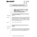 Sharp AR-285 (serv.man147) Technical Bulletin