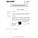 Sharp AR-285 (serv.man149) Technical Bulletin