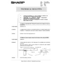 Sharp AR-285 (serv.man153) Technical Bulletin