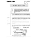 Sharp AR-285 (serv.man156) Technical Bulletin