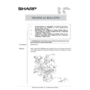 Sharp AR-285 (serv.man163) Technical Bulletin