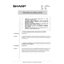 Sharp AR-285 (serv.man164) Technical Bulletin
