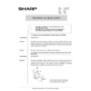 Sharp AR-285 (serv.man165) Technical Bulletin