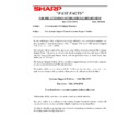 Sharp AR-285 (serv.man171) Technical Bulletin