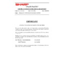 Sharp AR-285 (serv.man173) Technical Bulletin