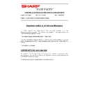 Sharp AR-285 (serv.man174) Technical Bulletin