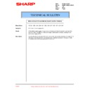 Sharp AR-285 (serv.man49) Technical Bulletin