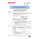Sharp AR-285 (serv.man55) Technical Bulletin
