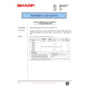 Sharp AR-285 (serv.man64) Technical Bulletin