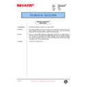 Sharp AR-285 (serv.man88) Technical Bulletin