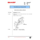 Sharp AR-285 (serv.man90) Technical Bulletin