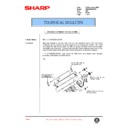 Sharp AR-285 (serv.man92) Technical Bulletin
