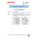 Sharp AR-285 (serv.man93) Technical Bulletin