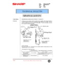 Sharp AR-285 (serv.man95) Technical Bulletin