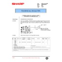 Sharp AR-285 (serv.man97) Technical Bulletin
