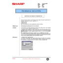 Sharp AR-405 (serv.man100) Technical Bulletin