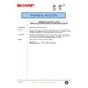 Sharp AR-405 (serv.man101) Technical Bulletin
