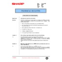 Sharp AR-405 (serv.man102) Technical Bulletin