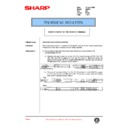 Sharp AR-405 (serv.man103) Technical Bulletin