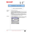 Sharp AR-405 (serv.man108) Technical Bulletin