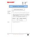 Sharp AR-405 (serv.man110) Technical Bulletin