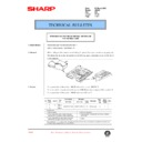 Sharp AR-405 (serv.man113) Technical Bulletin