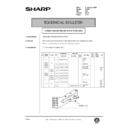Sharp AR-405 (serv.man114) Technical Bulletin