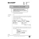 Sharp AR-405 (serv.man115) Technical Bulletin