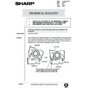 Sharp AR-405 (serv.man117) Technical Bulletin